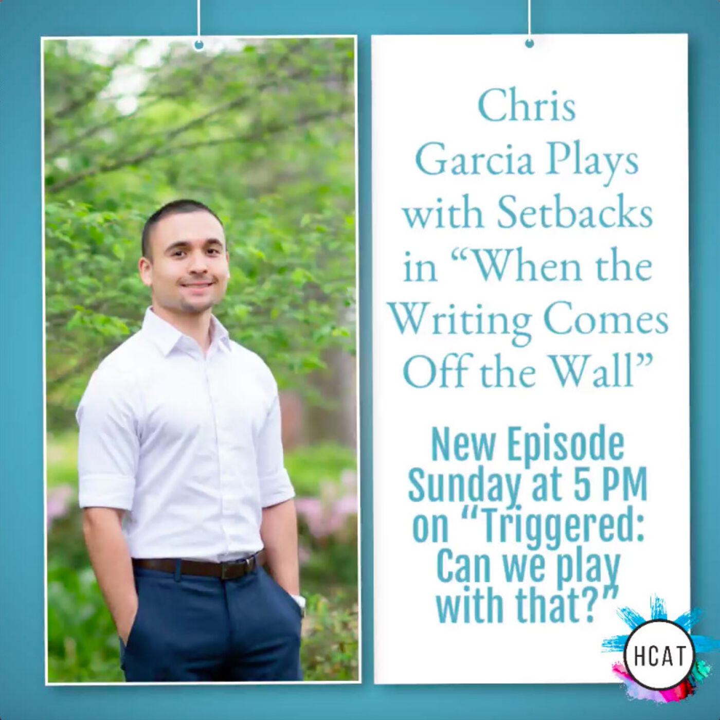 """Chris Garcia Plays with Setbacks in """"When the Writing Comes Off the Wall"""""""