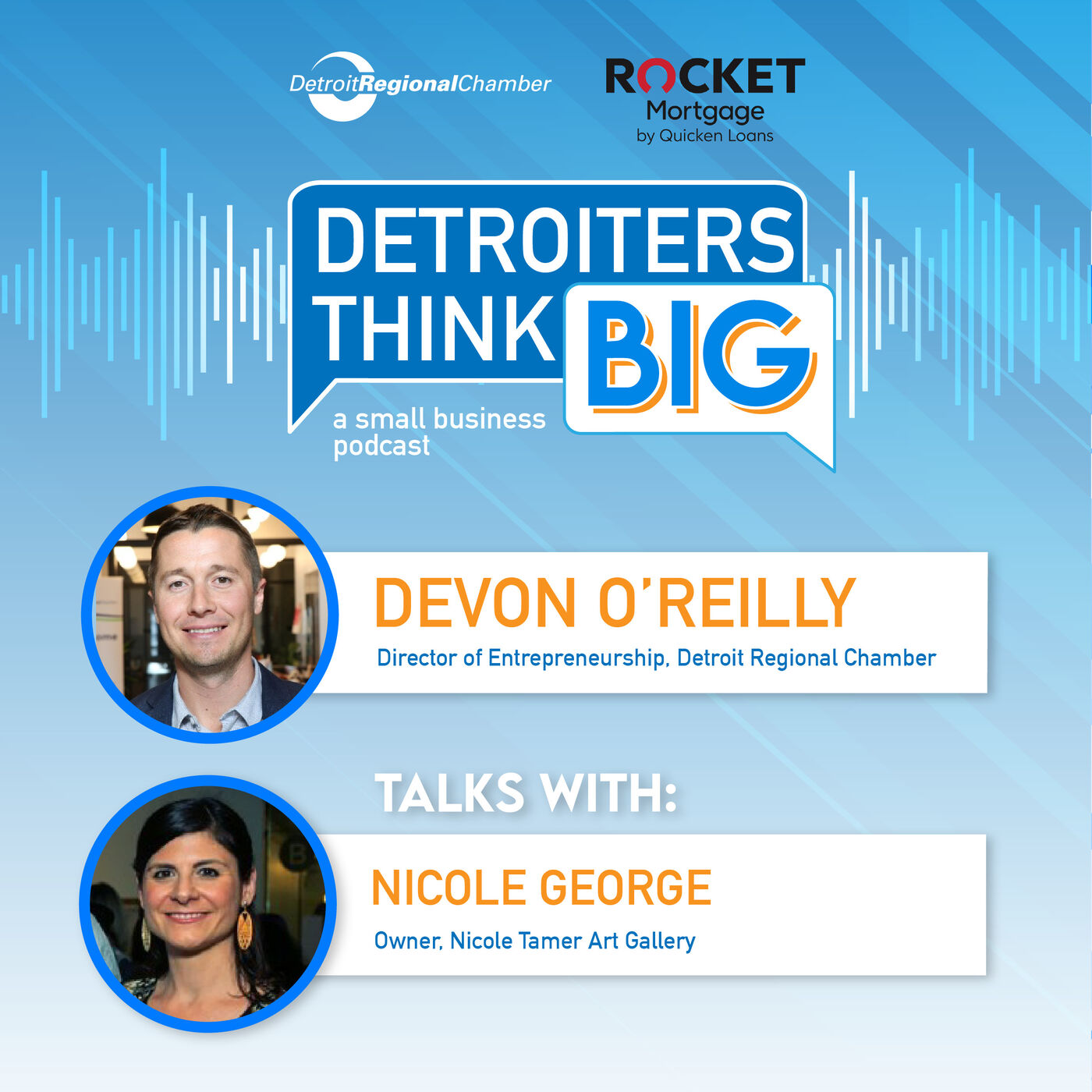 Detroiters Think Big: A Small Business Podcast | Nicole George, Nicole Tamer Art Gallery