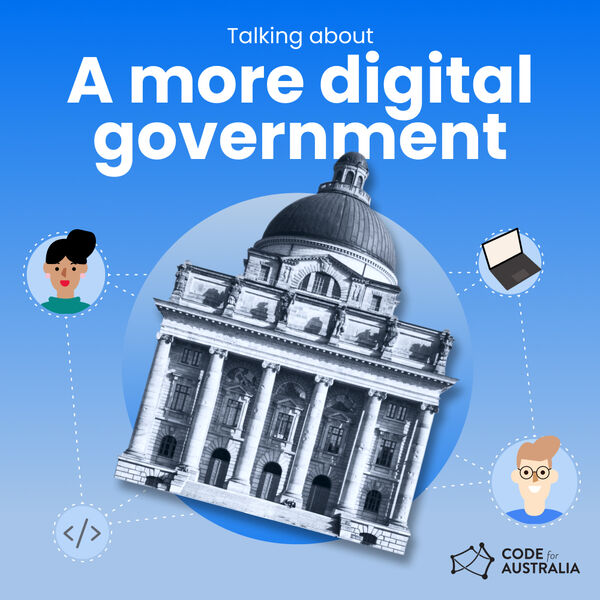 Talking About a More Digital Government Podcast Artwork Image