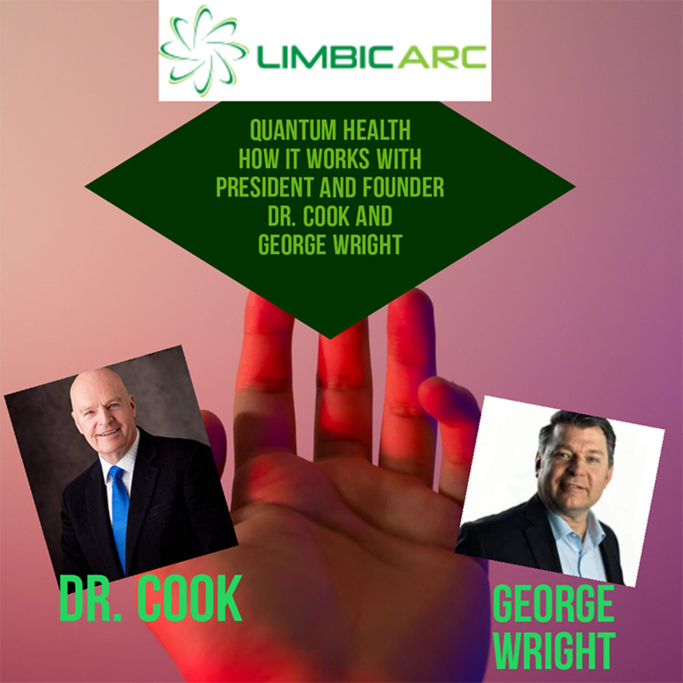 LIFT Your Story with Dr. Cook, George Wright and Jamel Sherman on Limbic Arc The New Quantum Health
