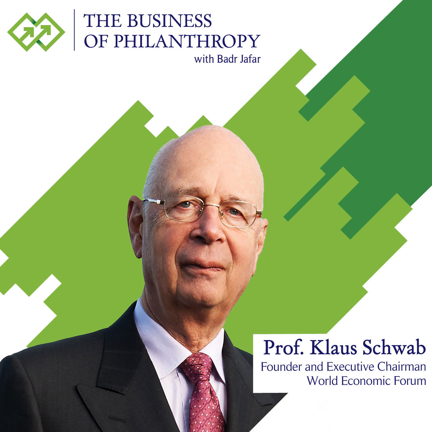 Professor Klaus Schwab; A Conversation with Badr Jafar