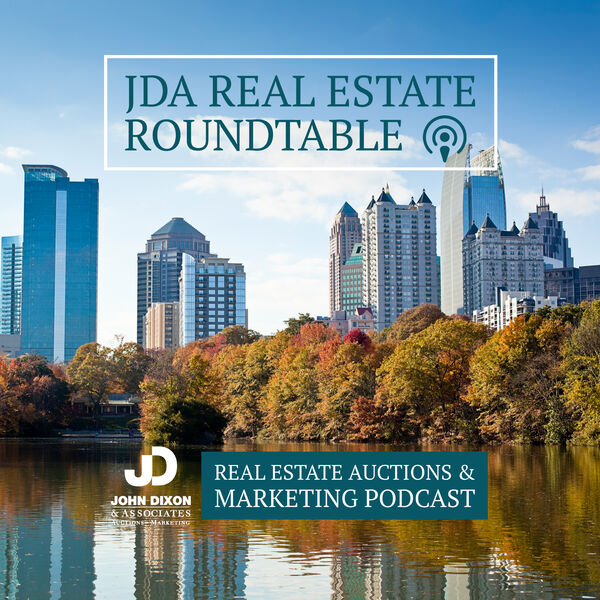 Real Estate Auction Roundtable Podcast Artwork Image