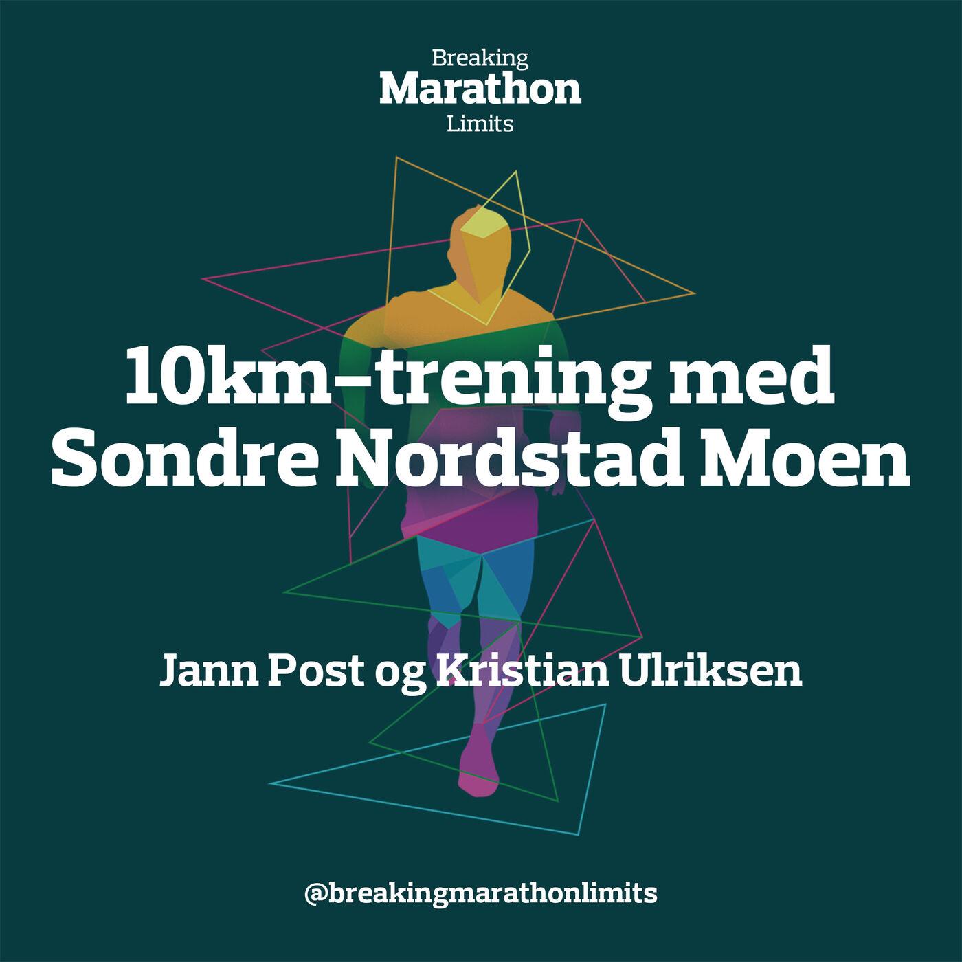 10km-trening med Sondre Nordstad Moen