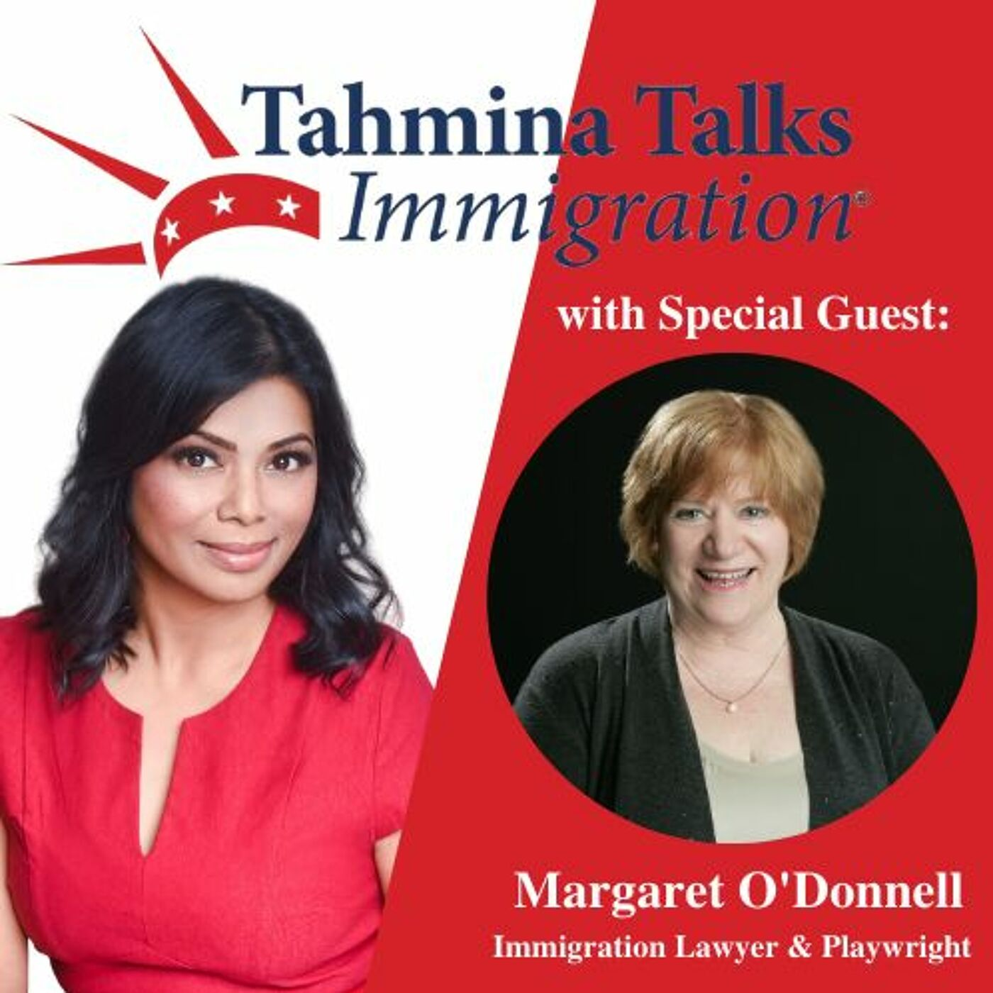 #113 Legal Heroes Series- Margaret O'Donnell, Playwright & Immigration Lawyer