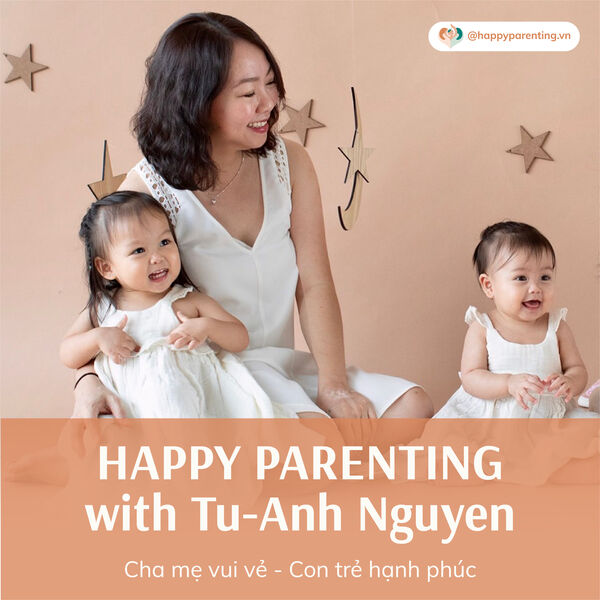 Happy Parenting with Tu-Anh Nguyen Podcast Artwork Image