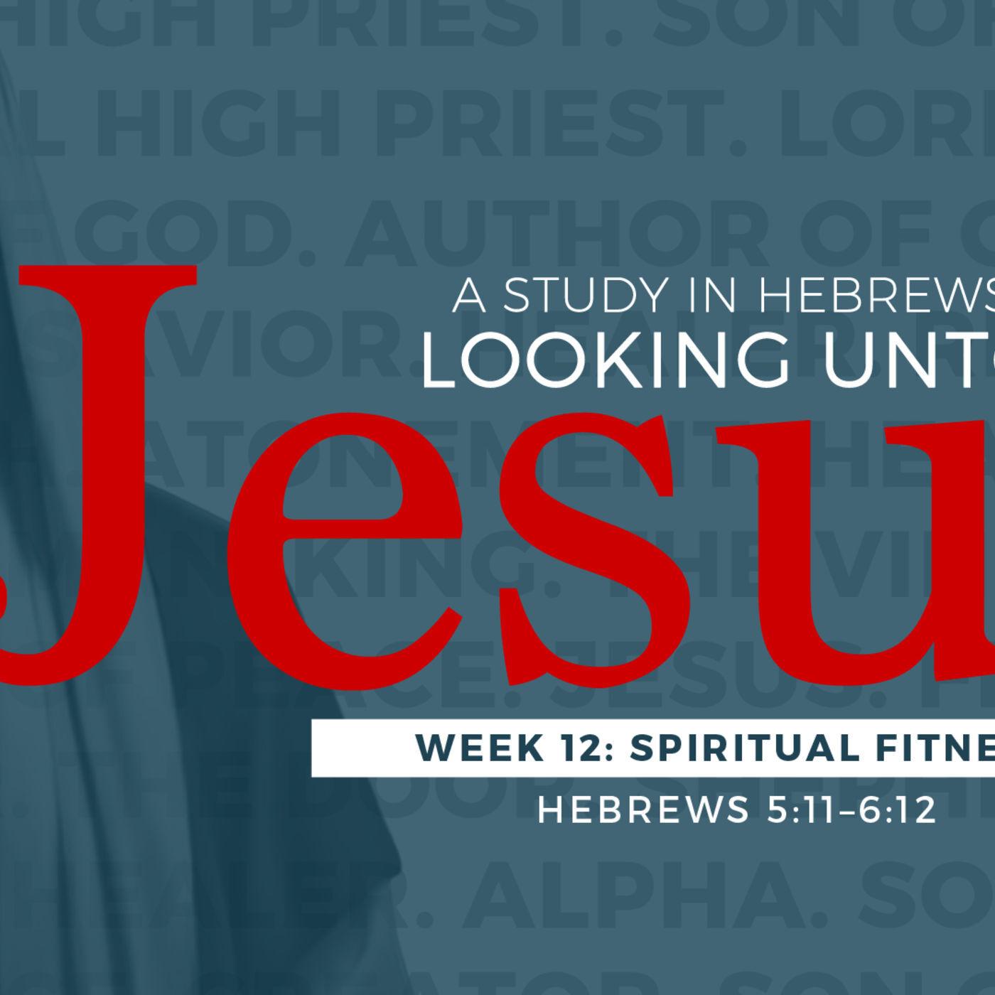 11-5-17 Spiritual Fitness #12 in series on Hebrews Looking