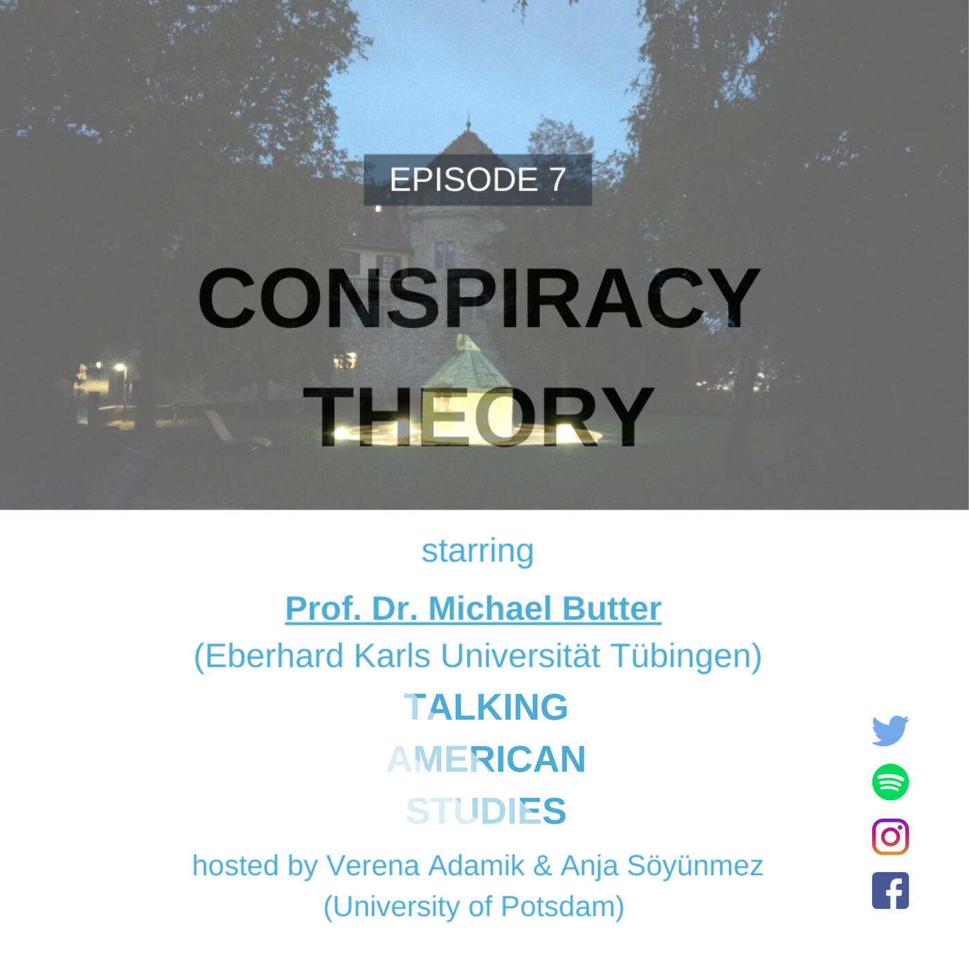 Conspiracy Theories and being a 'Public' Academic with M. Butter