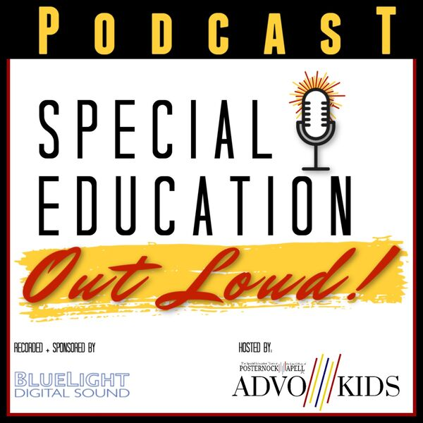 Special Education Out Loud Podcast Artwork Image