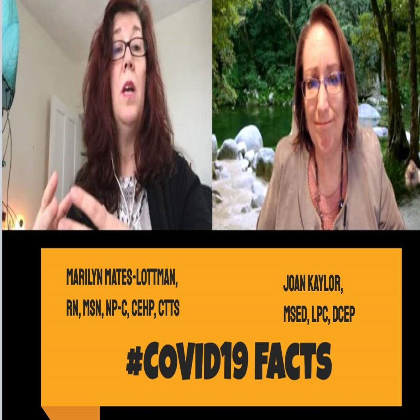 Facts on #COVID19 #coronavirus from Marilyn S. Mates-Lottman, RN, MSN, NP-C, CEHP, CTTS