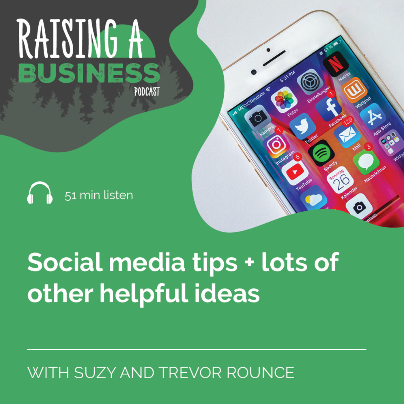 RAB 027 Social media tips + lots of other helpful ideas