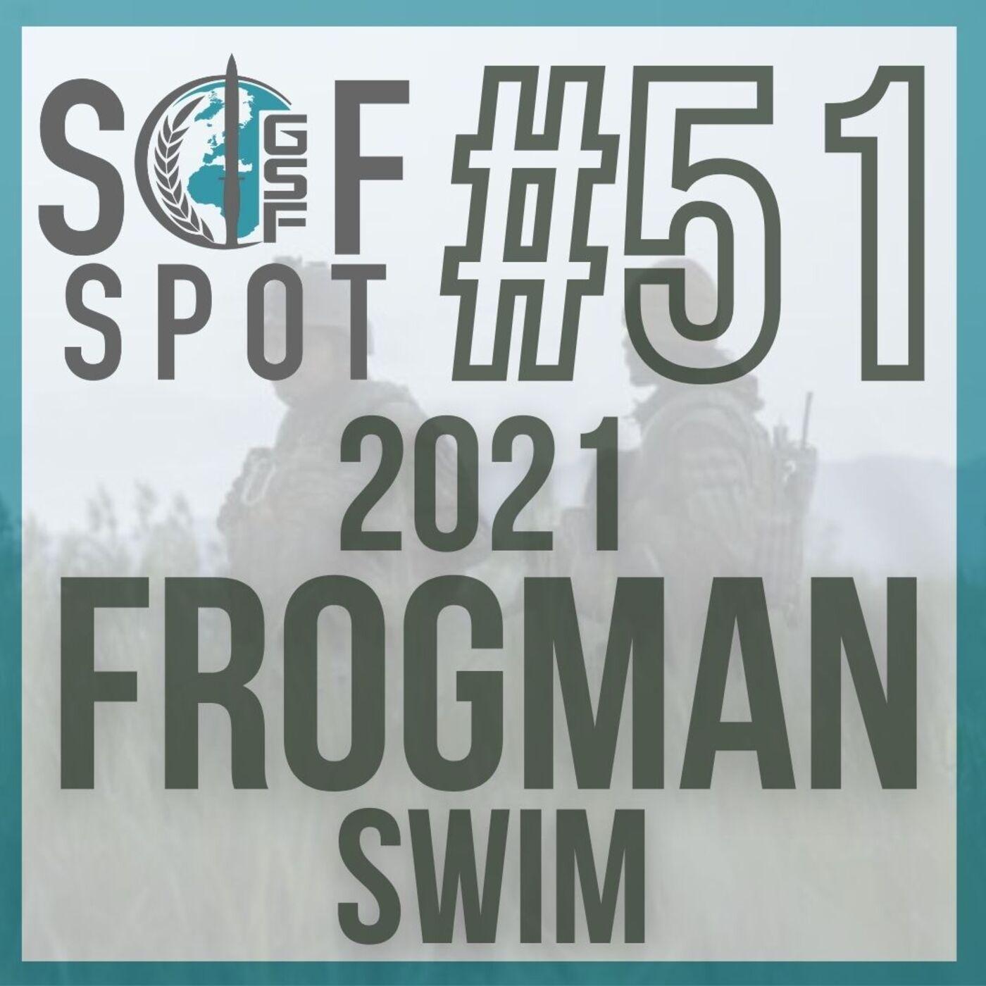 2021 Frogman Swim