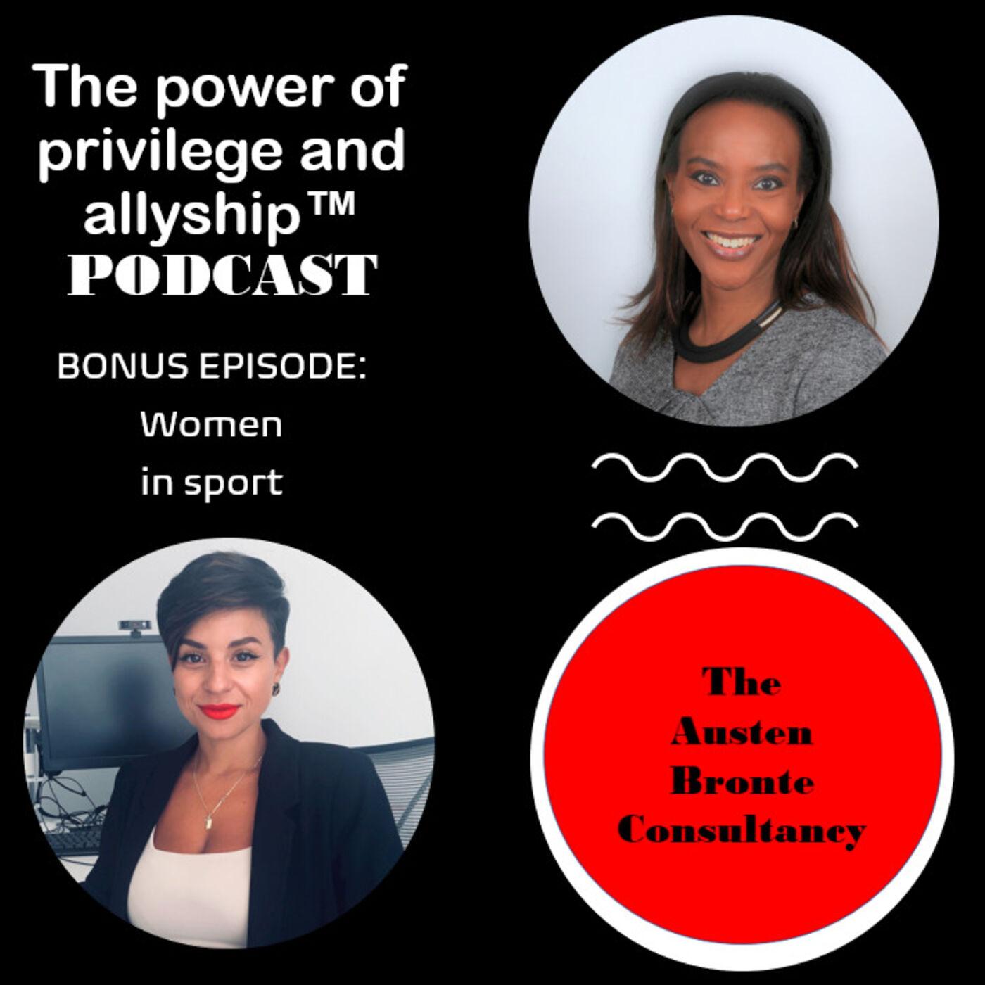 S1 BONUS EPISODE: Women in sport feat. Stefania Genesis