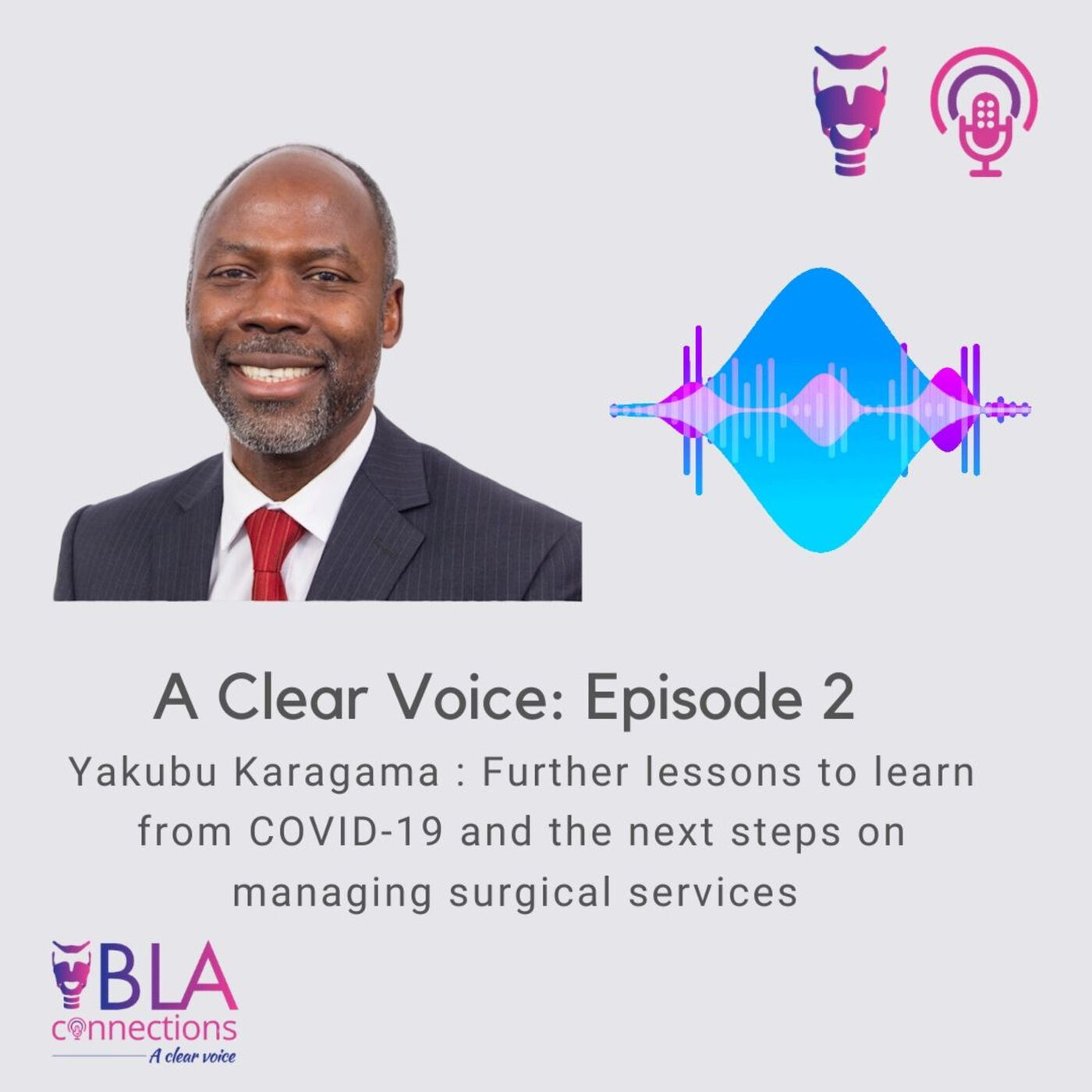 S1 Ep 2: Yakubu Karagama on further lessons learned from COVID-19 and the next steps on managing surgical services