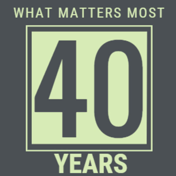 40 years and Counting - Building Business Success in Therapy Practices- What Matters Most Podcast Artwork Image