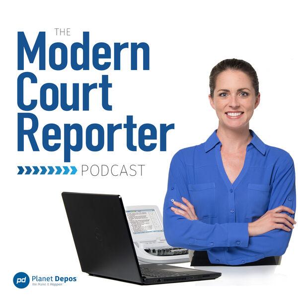 The Modern Court Reporter Podcast Artwork Image