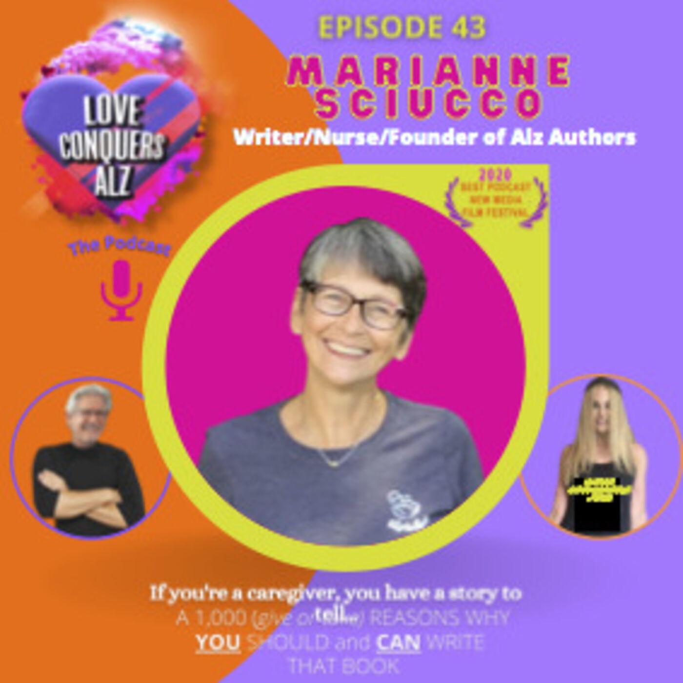 MARIANNE SCIUCCO - Author, Registered Nurse, Founder of AlzAuthors