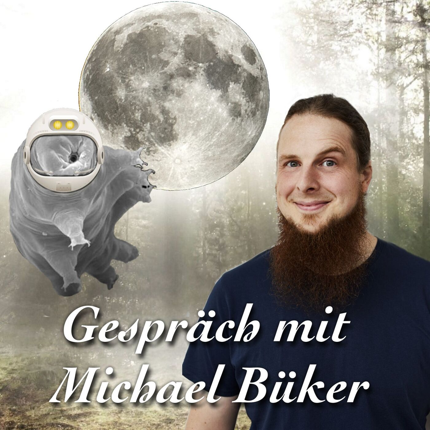 Milchstraße, Mondbären und Mistkäfer - Michael Büker