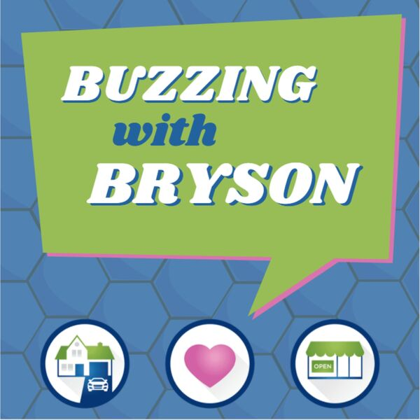 Buzzing with Bryson Podcast Artwork Image