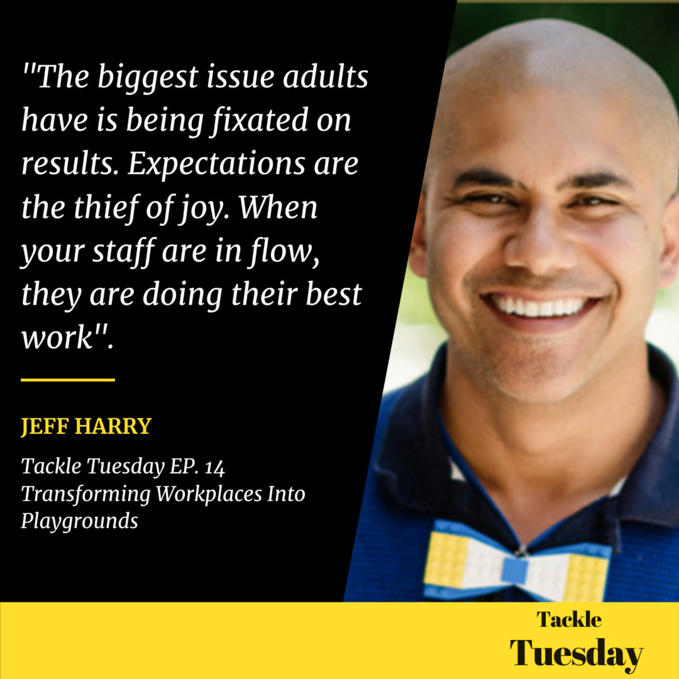 Ep. 14 Transforming workplaces into playgrounds