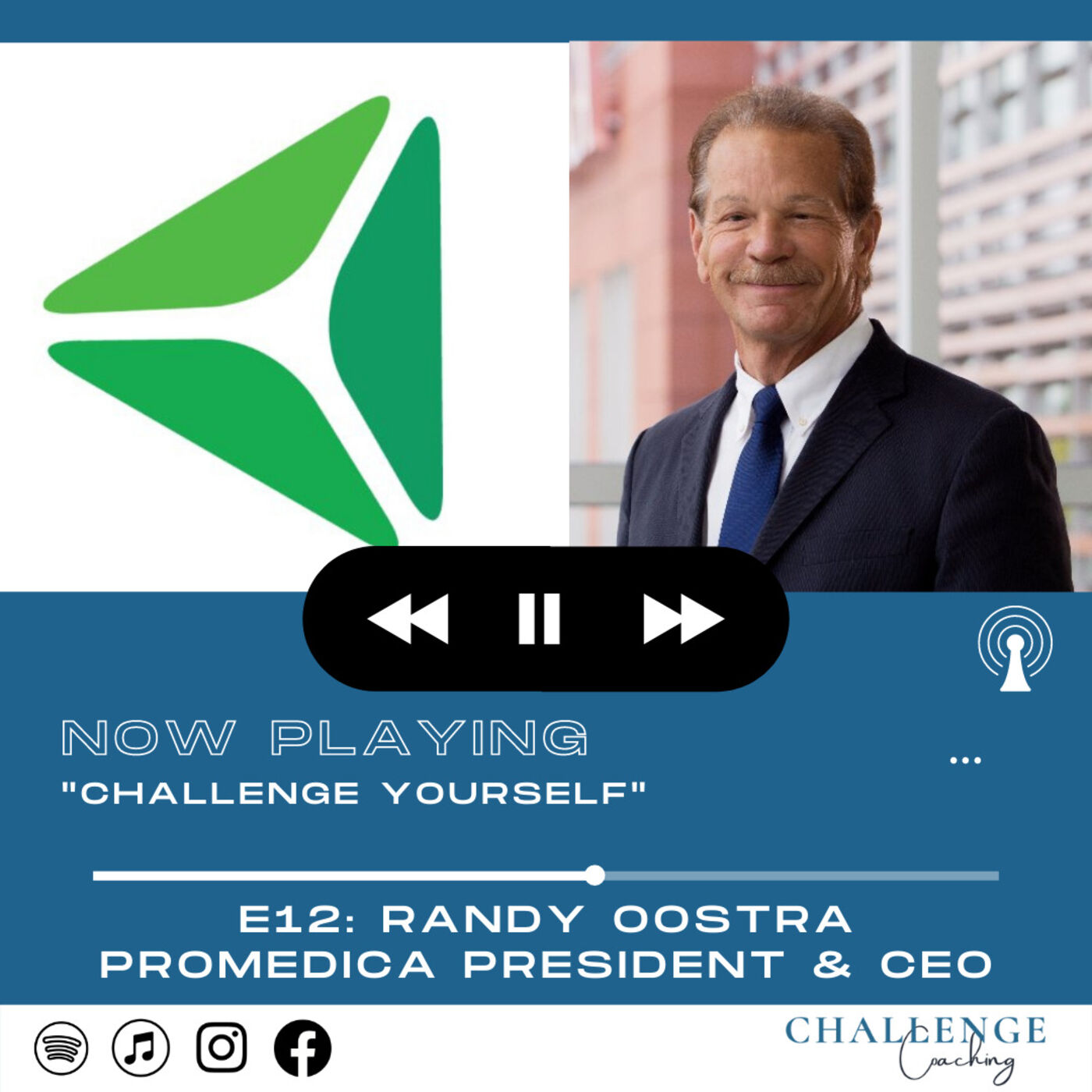 E12: Randy Oostra: Promedica President and CEO