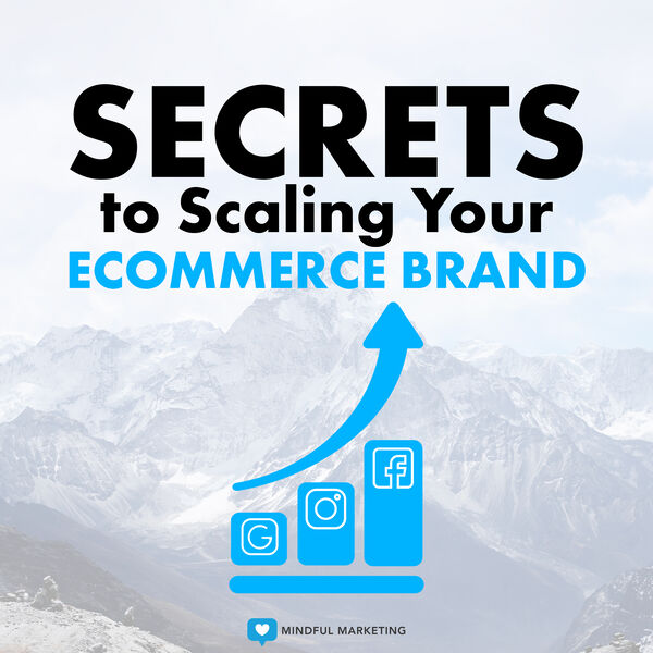 Secrets To Scaling Your Ecommerce Brand Podcast Artwork Image