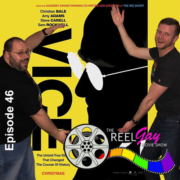 The Reel Gay Movie Show Podcast Artwork Image