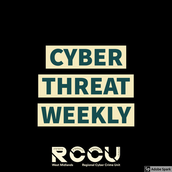 Cyber Threat Weekly Podcast Artwork Image