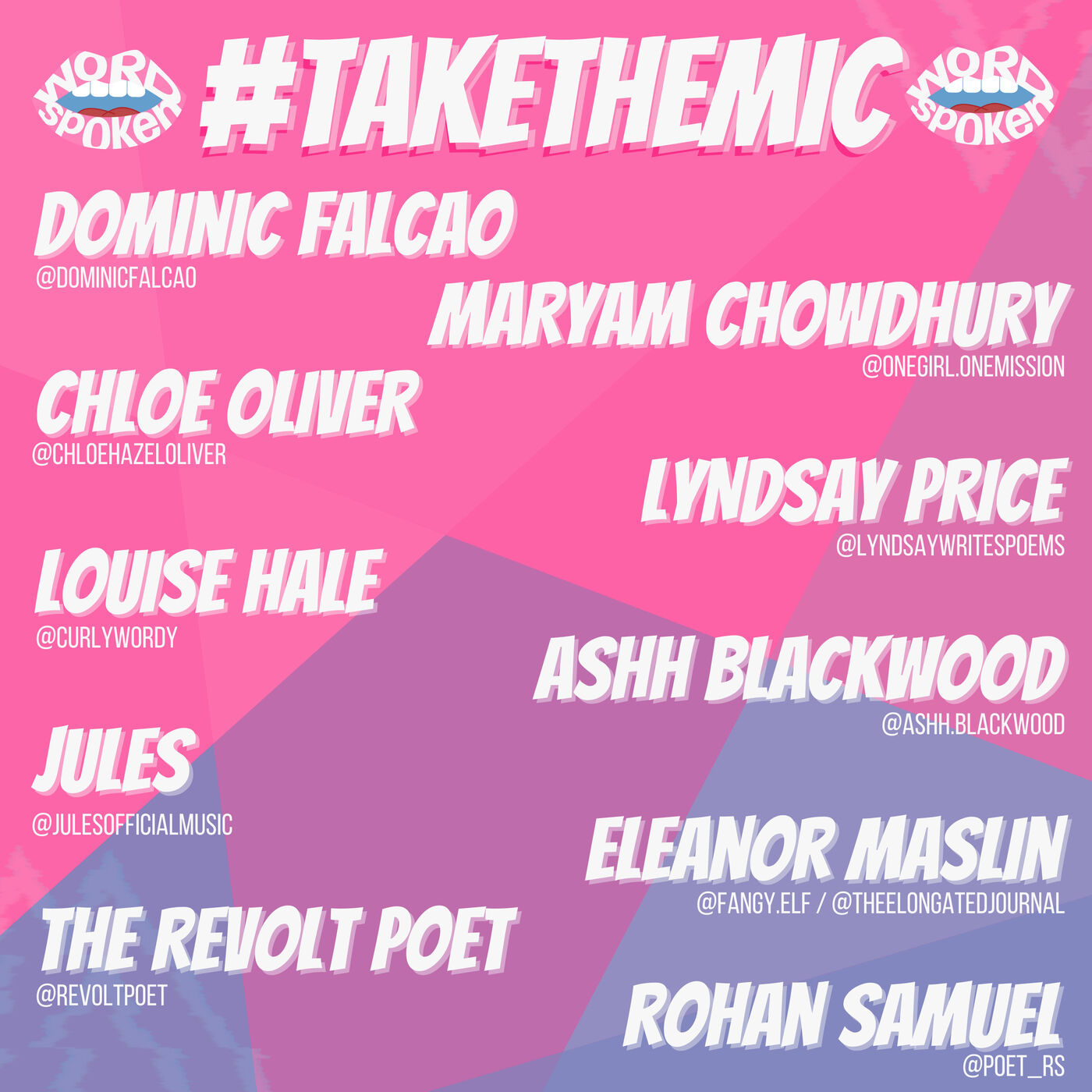#TakeTheMic - Open Mic Competition