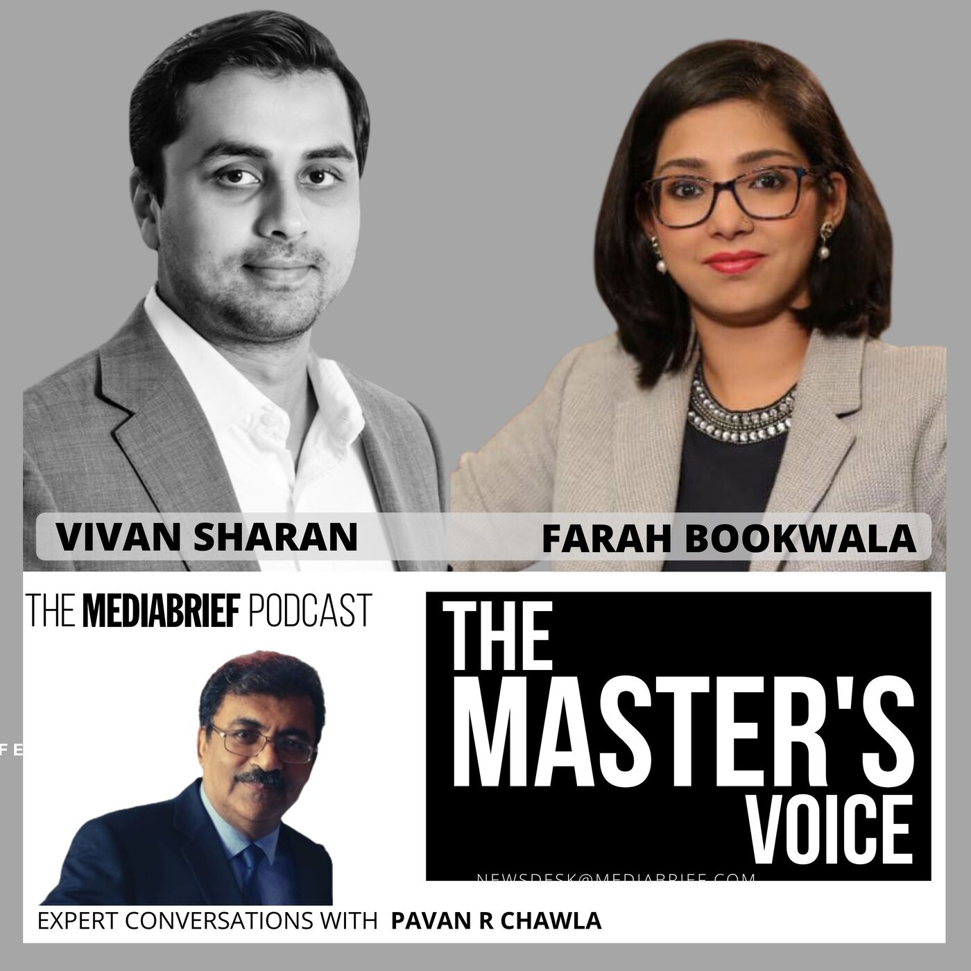BODY BLOWS TO TELEVISION BROADCAST IN INDIA: Vivan Sharan and Farha Bookwala on The Master's Voice