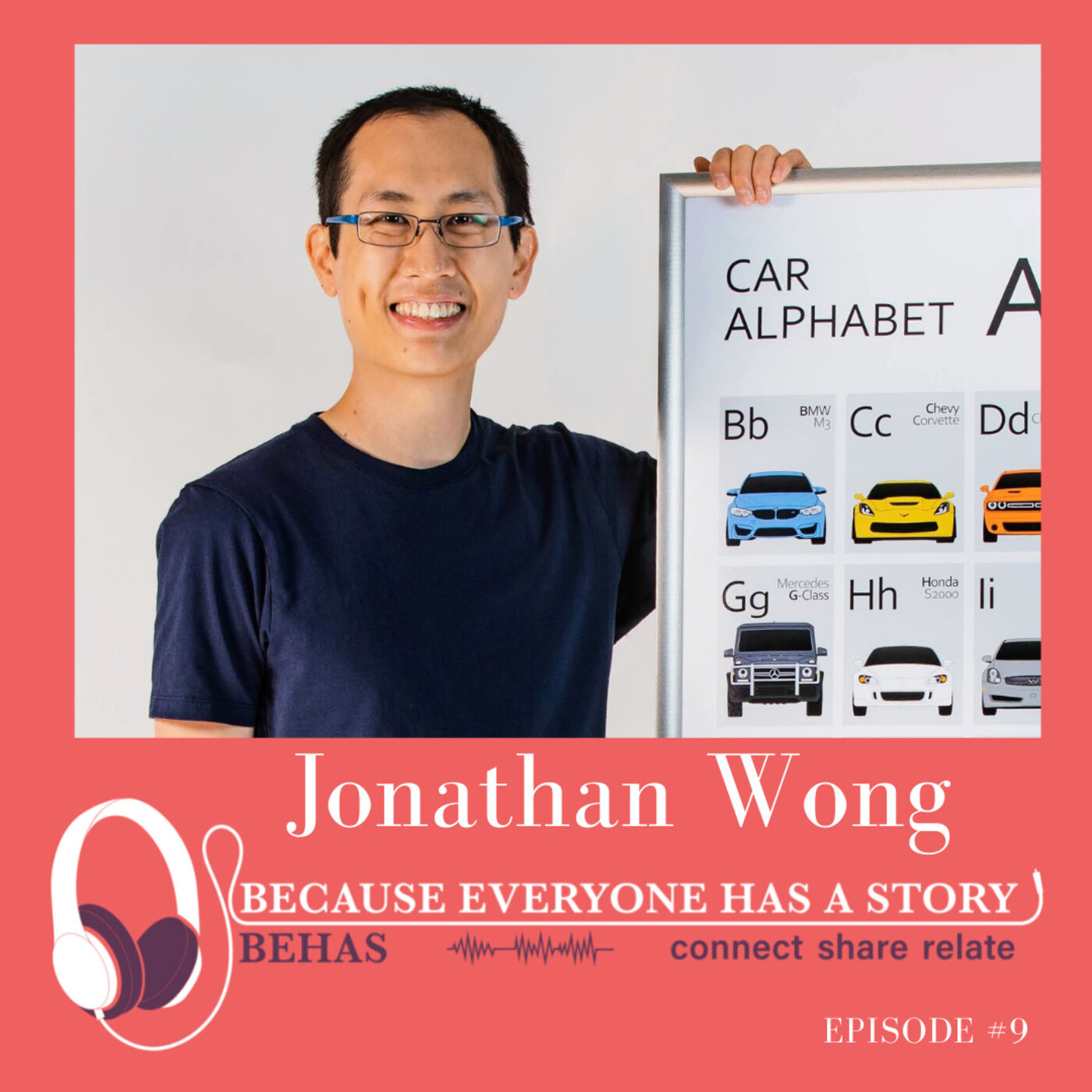 #9 - Transitioning From Accountant To Self Employed Artist - Jonathan Wong