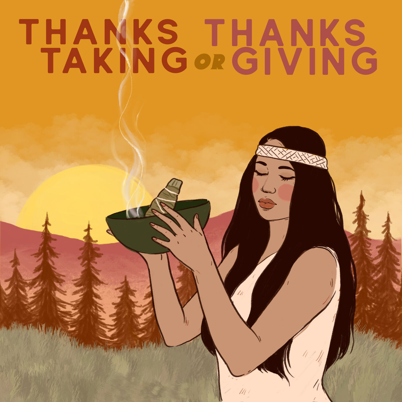 ThanksTaking or ThanksGiving?