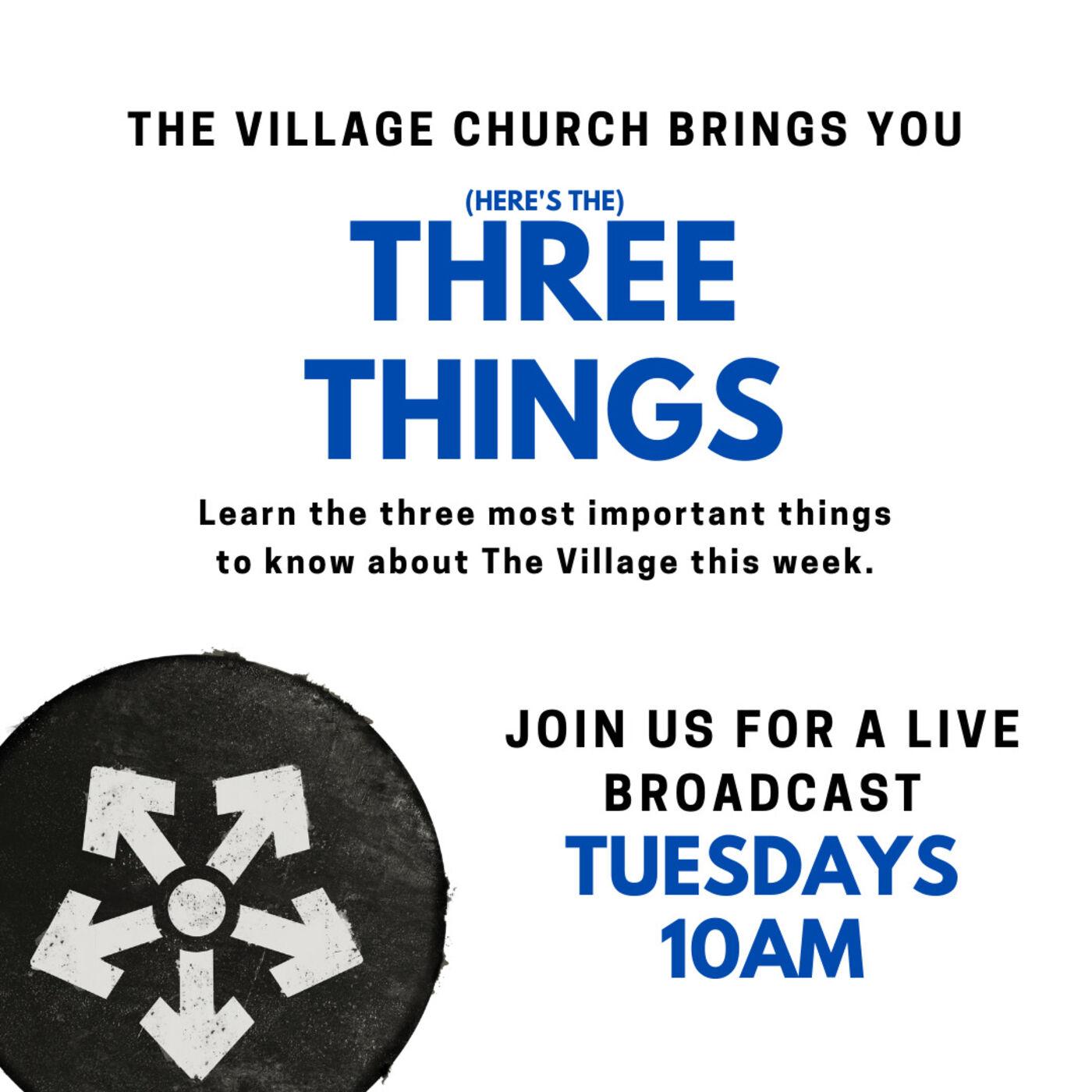 3 Things: November 10