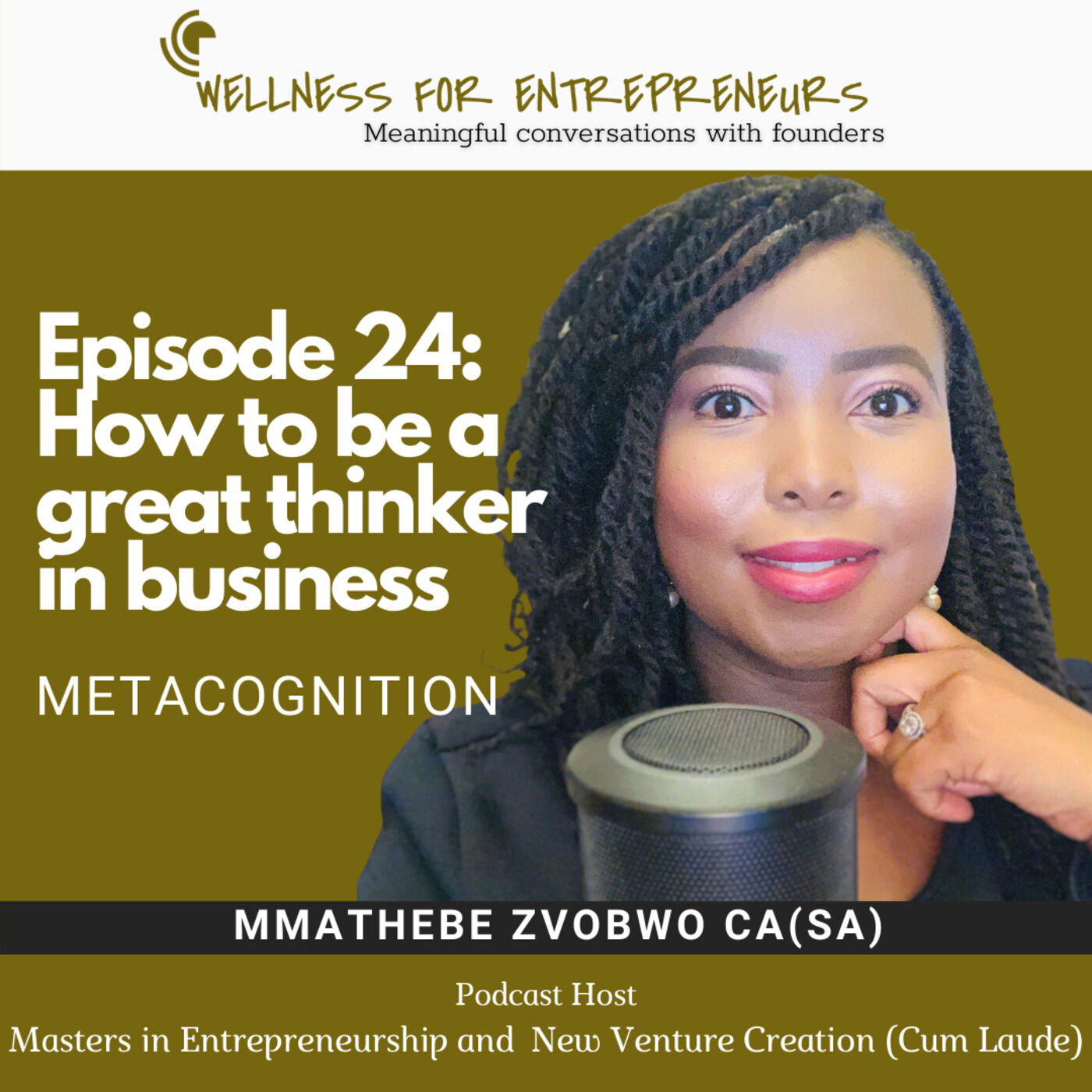 Episode 24: How to be a great thinker in business - metacognition