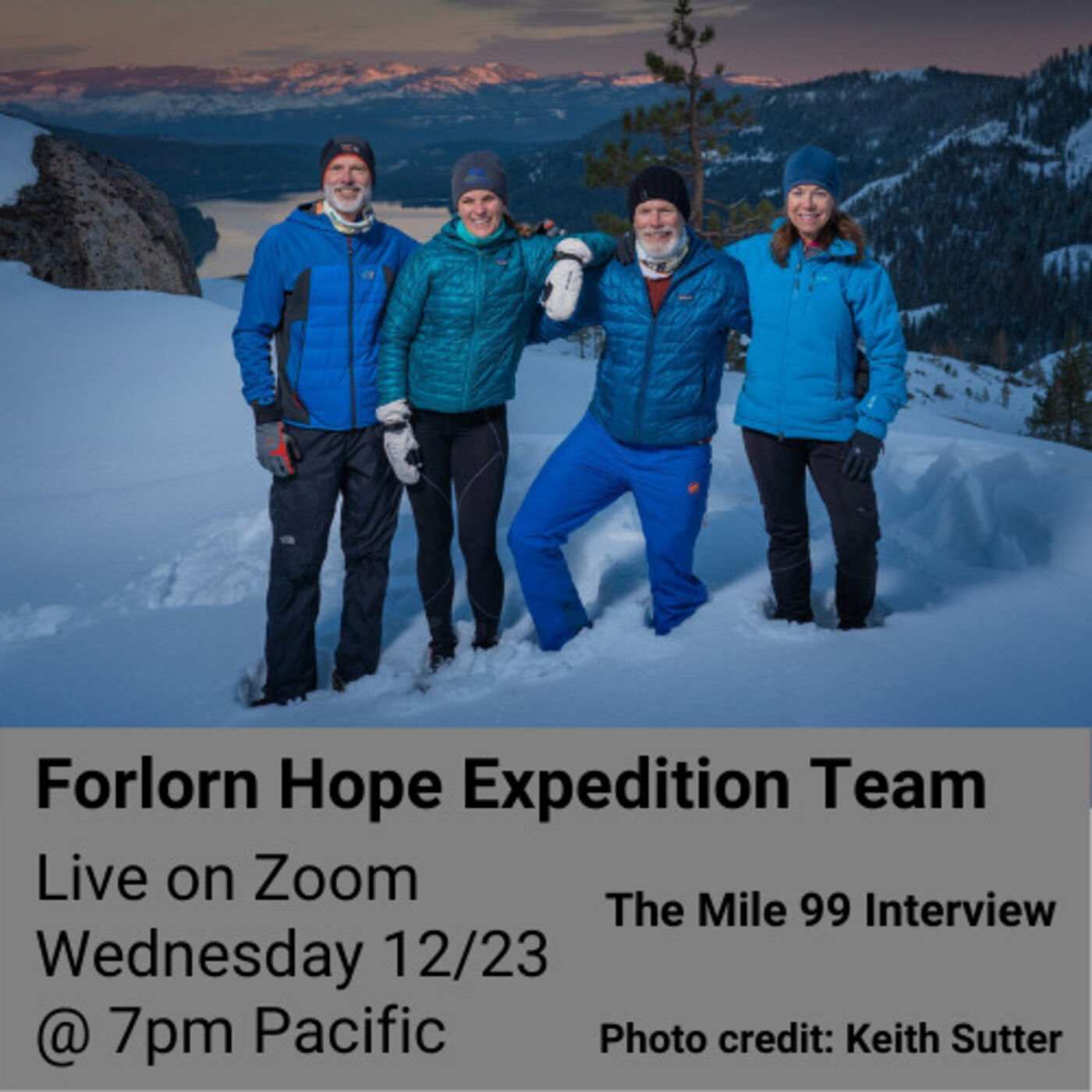 Episode 23 - Forlorn Hope Expedition Team