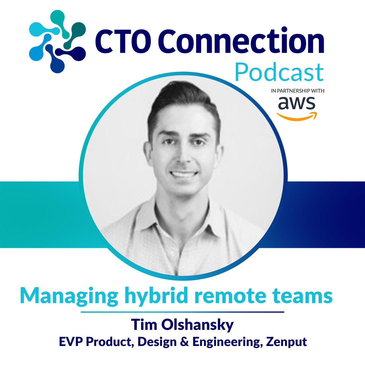 Short Byte: Tim Olshansky - Managing hybrid remote teams