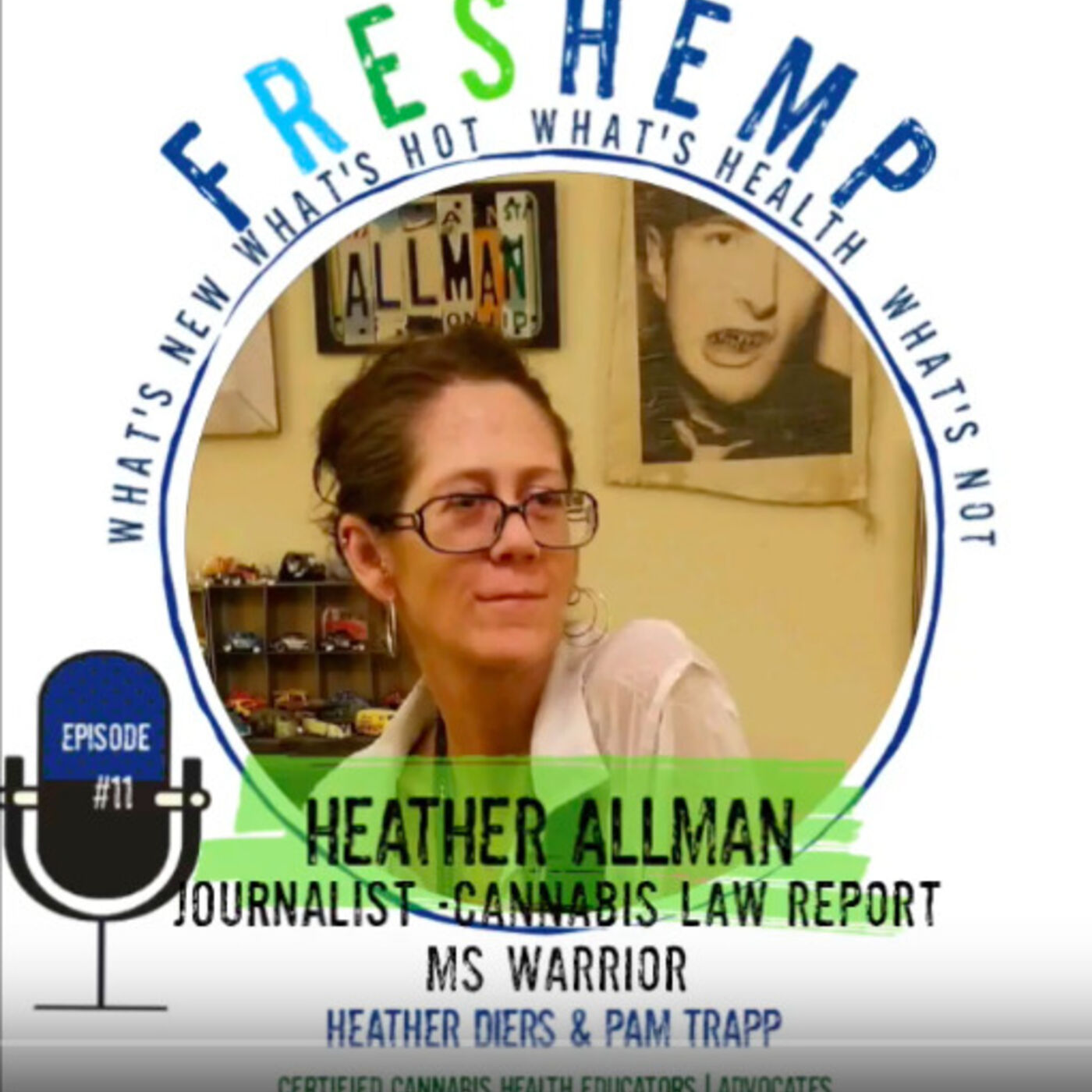 Heather Allman - MS Heroine, Professional Journalist and Cannabinoid Supplementation Advocate