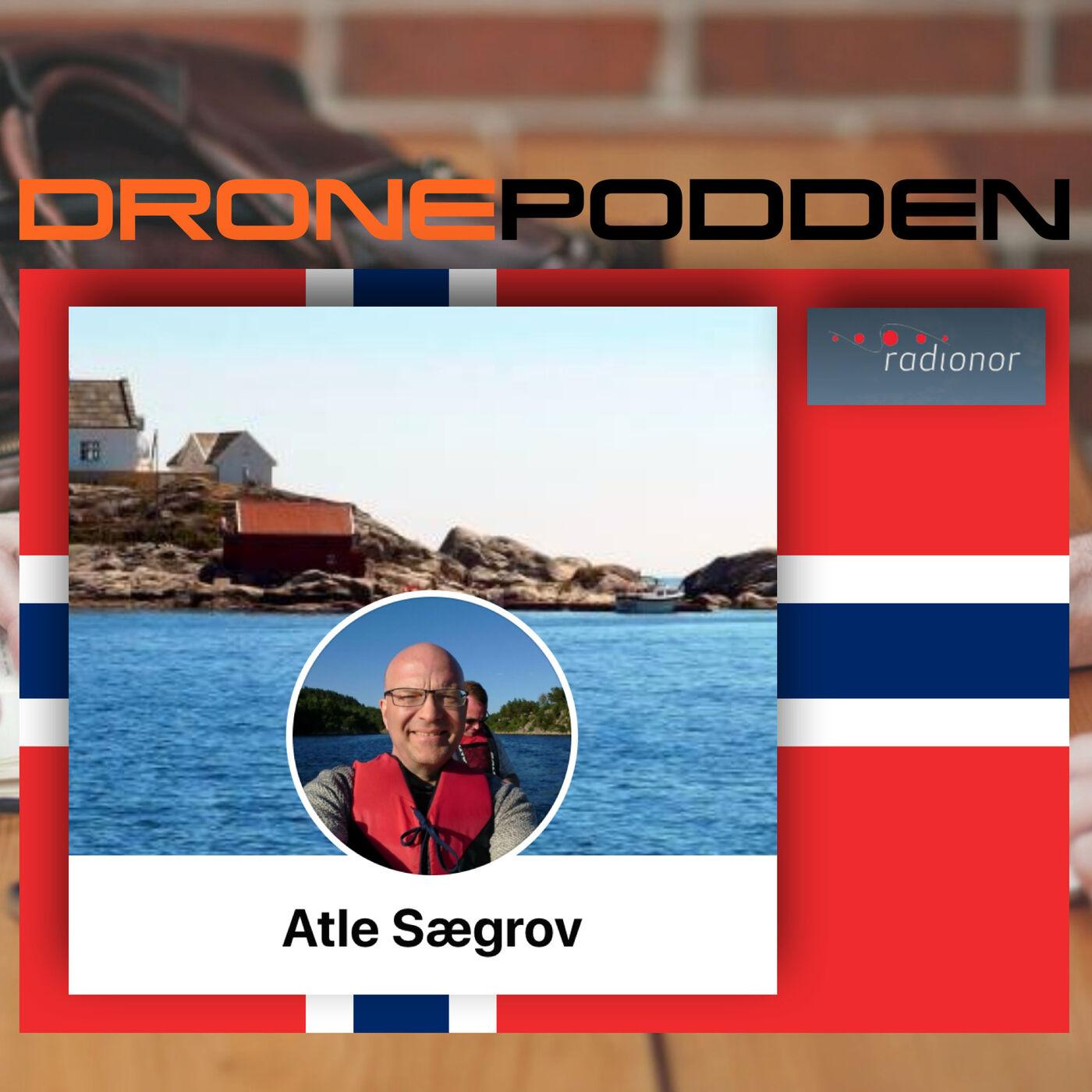 """Episode nr. 13 - Grunder og CEO Atle Sægrov i Radionor Communications AS i Trondheim """"podd´er"""" om avansert radioteknologi"""