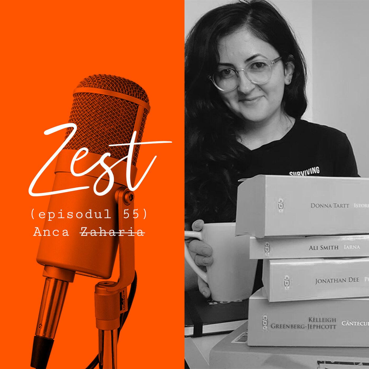 Anca Zaharia: După fiecare carte, simt că mi-am epuizat cuvintele