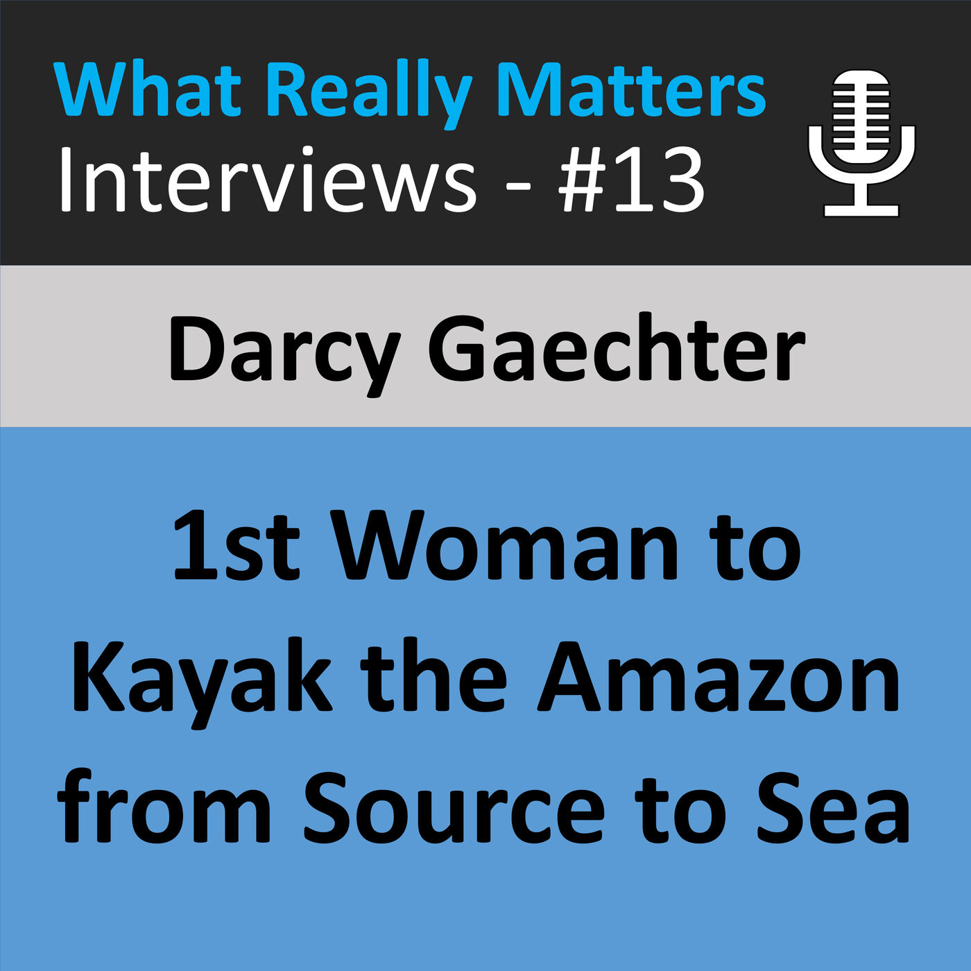 WRMI 013: Darcy Gaetchter: First Woman to Kayak the Amazon from Source to Sea