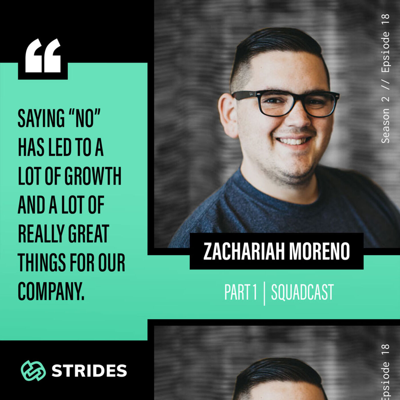 Building a Better Platform for Interviews With Zachariah Moreno — Part 1 (Squadcast)