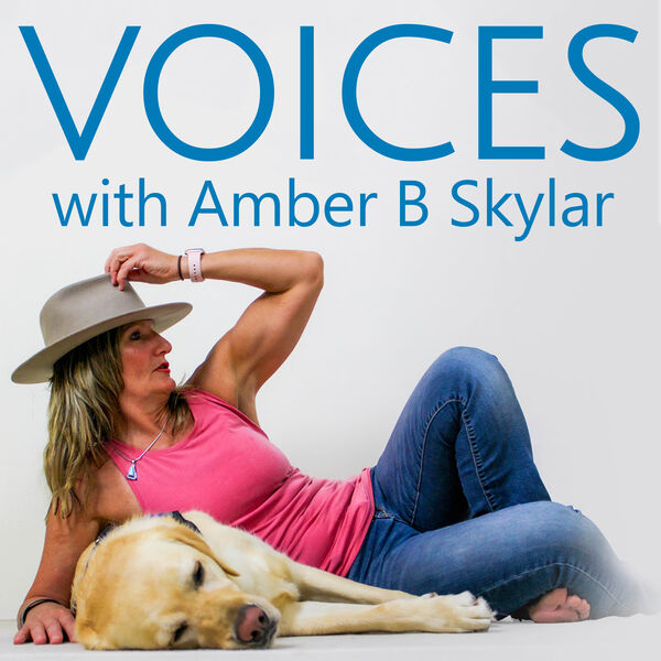 VOICES with Amber B Skylar  Podcast Artwork Image
