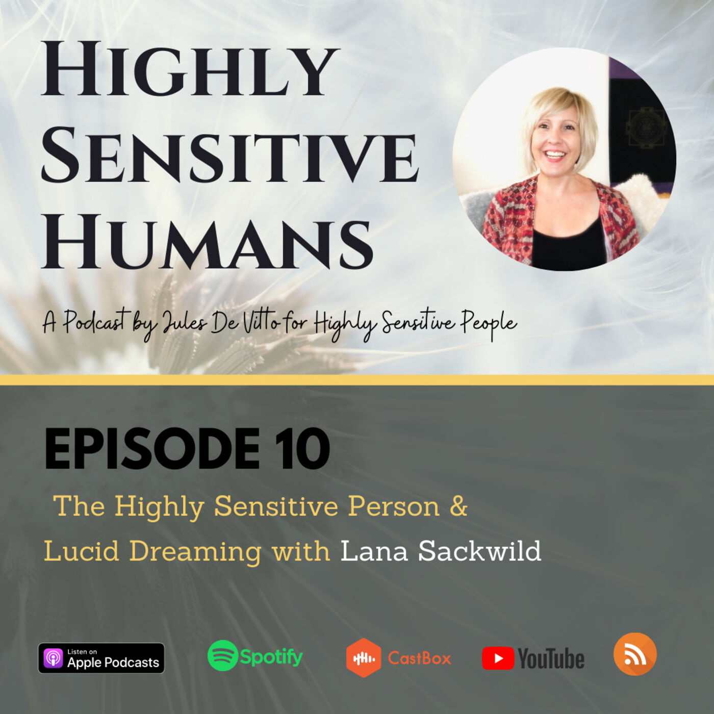 The Highly Sensitive Person and Lucid Dreaming with Lana Sackwild