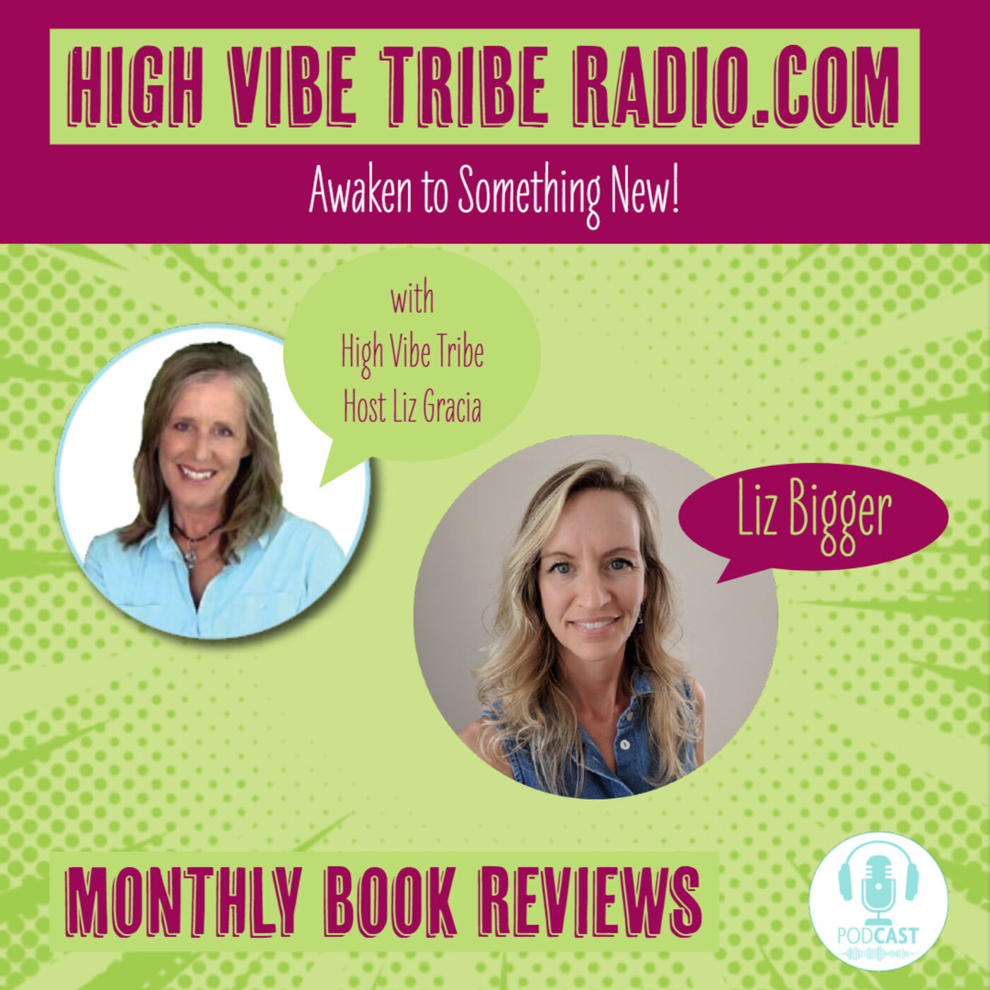 High Vibe Tribe Monthly Book Review Podcast for September 2019