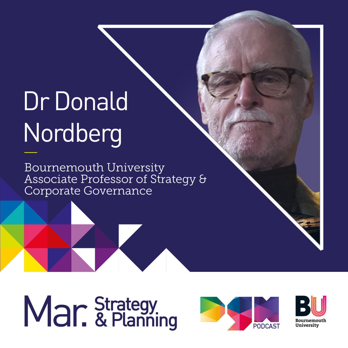 Steering your business to success with Dr Donald Nordberg, Associate Professor at Bournemouth University #S2E6