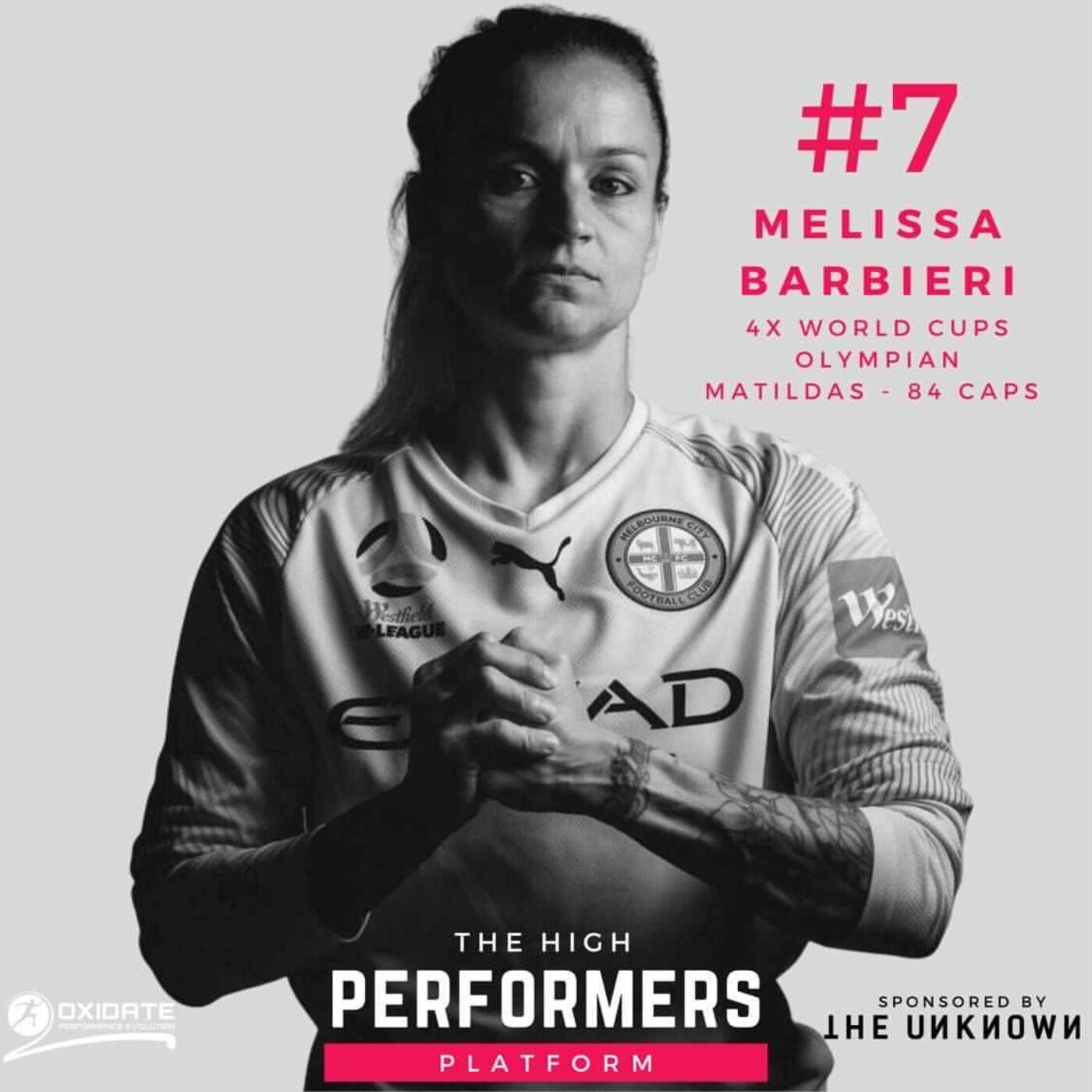 #7: Melissa Barbieri - Matilda's Legend & Football Great - Tune in for this extraordinary story. 4 world cup campaigns, Captain for her country and going to the Olympic Games