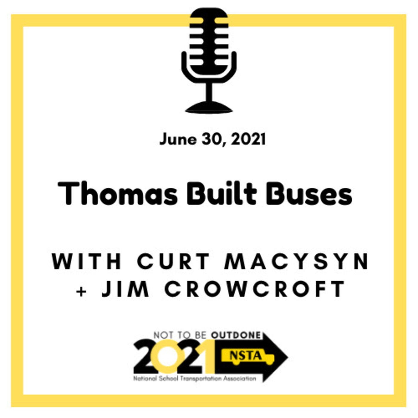 Jim Crowcroft, North American Dealer Sales & Service Manager, Thomas Built Buses