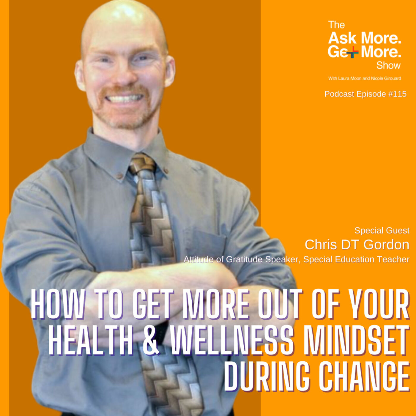 Change Is GOING To Happen Like it or Not - Check Your Mindset [Chris DT Gordon]