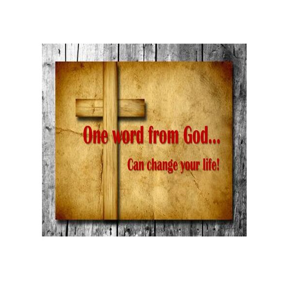 One Word From God... Podcast Artwork Image