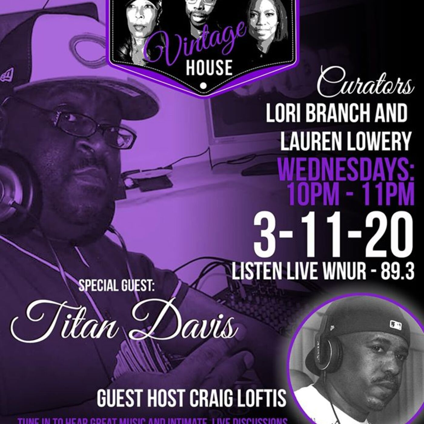 TITAN DAVIS AND Guest CoHost CRAIG LOFTIS on music editing, sharing and the House Community