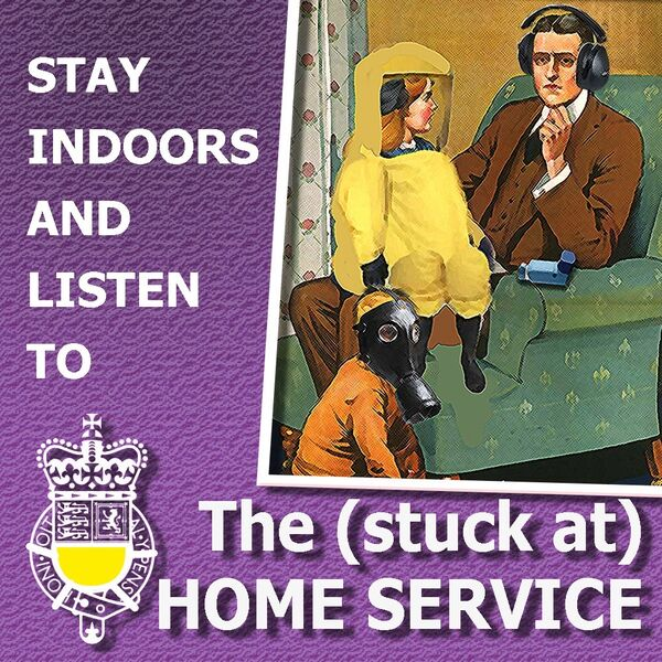 The (stuck at) HOME SERVICE Podcast Artwork Image